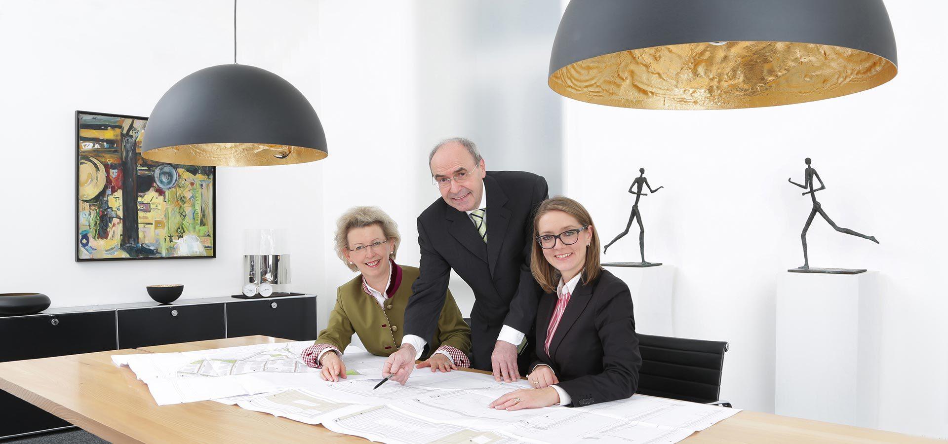 Die Rechtsanwälte der Kanzlei in Landshut